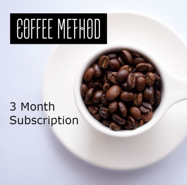 Coffee Method 3 Month Subscription